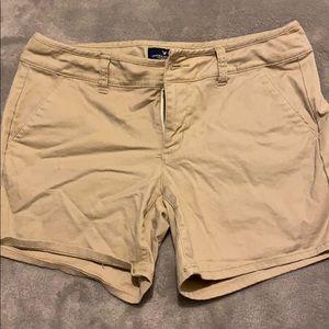 American Eagle Khaki Shorts 4